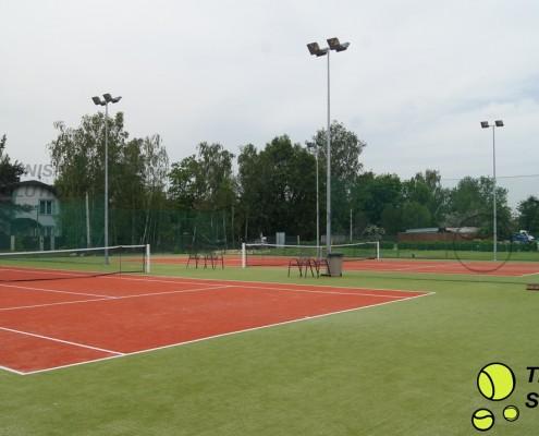 Budowa kortów tenisowych