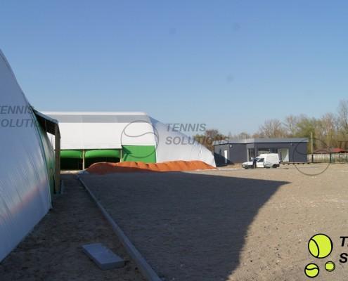 Budowa hal namiotowych