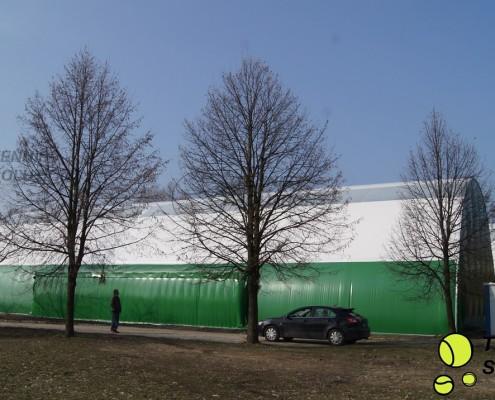 Budowa hali tenisowej typu W3 - półbeczka
