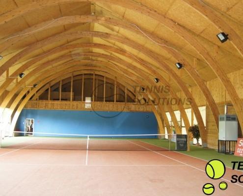 Kort tenisowy - budowa
