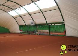 Hala tenisowa - budowa w Błoniu