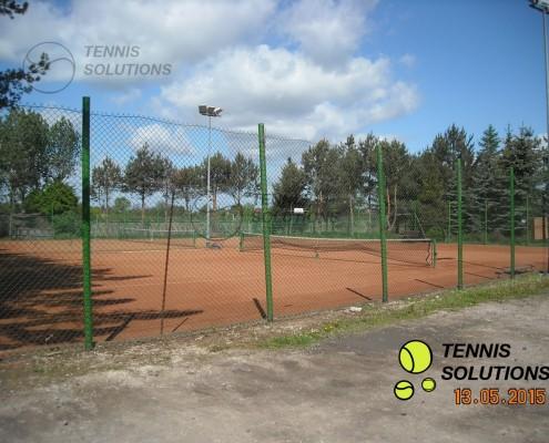 Korty tenisowe w Błoniu przed inwestycją