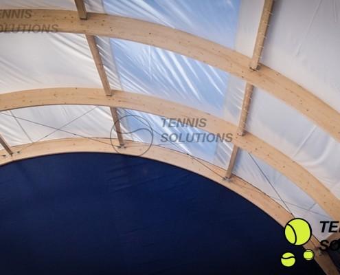 Świetlik - hala tenisowa w Jaworznie