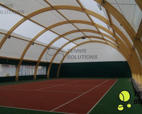 Żaluzja Hal tenisowych w Jawczycach