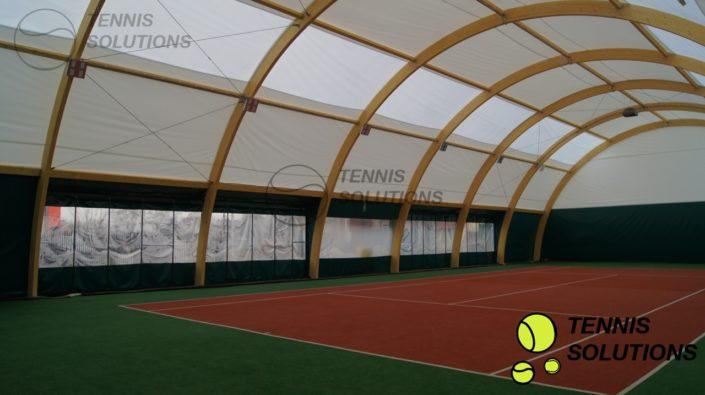 Drewniana Hala tenisowa w Jawczycach